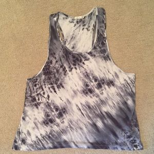 Tie Die Athletic Tank Top